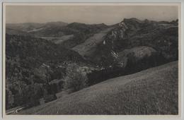 Blick Von Der Studenweid Auf Waldenburg Und Rehhag - BL Bâle-Campagne