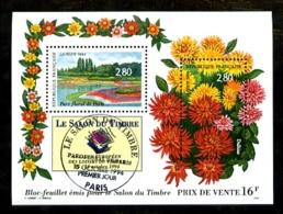 BF N° 16 - Salon Du Timbre 1994 - Oblitéré PJ - Très Beau - Sheetlets