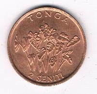 2 SENTI 1996 TONGA /8537/ - Tonga