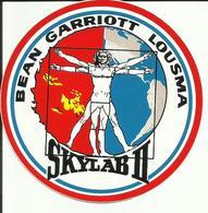 Autocollant SKYLAB II - BEAN / GARRIOTT / LOUSMA - ESPACE - Stickers