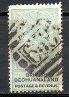 AFRIQUE - BECHUANALAND - (Colonie Britannique) - 1887 - N° 19 - 5 S. Vert Et Noir - (Effigie De Victoria) - Bechuanaland (...-1966)