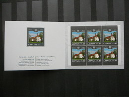 Palaces Of Latvia # Latvia Lettland Lettonie # 2004 MNH # Mi. Booklet 622D - Lettonie