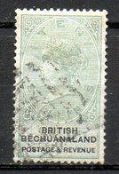 AFRIQUE - BECHUANALAND - (Colonie Britannique) - 1887 - N° 20 - 10 S. Vert Et Noir - (Effigie De Victoria) - Bechuanaland (...-1966)