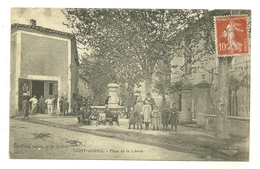 13 SAINT-ANDIOL PLACE DE LA LIBERTE ANIMATION BOUCHES DU RHONE - France