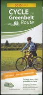 Cycle The Greenbelt Map Of Ontario (RM117) - Roadmaps