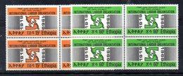 ETP31 - ETIOPIA 1968 , Yvert Serie In Quartina Yvert N 530/531  ***  MNH ILO - Ethiopia