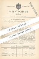 Original Patent - H. Wichelhaus , Berlin , 1894 , Darstellung Von Di-ß-naphtochinoxyd Und Deren Hydrate   Beilstein !! - Documenti Storici