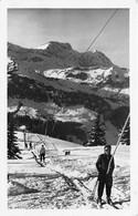 CREST-VOLAND - Le Remonte-pente Du Mont Lachat - CPSM Petit Format - Andere Gemeenten