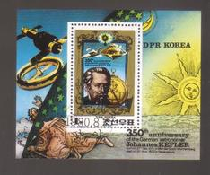 8886-North Korea, DPR, S/sheet Scott 1986 – Topic Space - Space