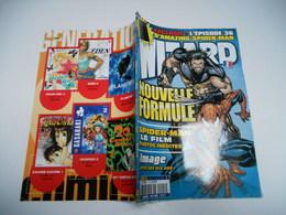 Wizard N° 1 NOUVELLE FORMULE  : L'actualité Des Super-Héros   TBE  /////////// - Books, Magazines, Comics