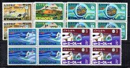 ETP33 - ETIOPIA 1969 , Yvert Serie In Quartina Yvert N 541/545  ***  MNH TURISMO - Ethiopia