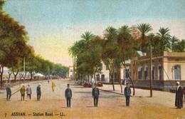 ASSUAN  -  Station Road  -  (1914) - Assouan