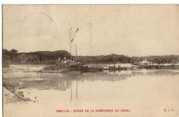 ISMAILIA  -  Darse De La Compagnie Du Canal  -  (1910) - Ed.  .S.I.P - Ismailia