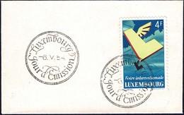 1954 6e Foire Internationale Du Luxembourg, Michel: 524  4F - FDC