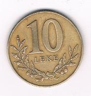 10 LEKE 1996 ALBANIE /8545/ - Albanie