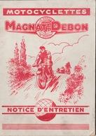 Motocyclettes Magnat Debon - Moto