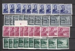 Deutschland Deutsches Reich ** 888-893 Kameradschaftsblock Deutsche Reichspost Mehrfach Katalog 40,00 - Deutschland