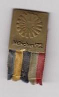 Pin Badge Anstecknadel Olympic Games Munich 1972 72 Munchen Germany Olympics Olympia - Olympic Games