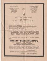 Rare Faire Part Père Cent Base Aérienne 7/9 - 1939-45