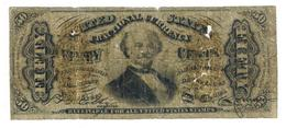 USA, 50 Cents 1863, G. Rare. - Fractional Currency (1862-1875)