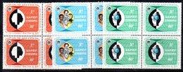ETP37 - ETIOPIA 1971 , Yvert Serie In Quartina Yvert N 597/599  ***  MNH  RAZZISMO - Ethiopia