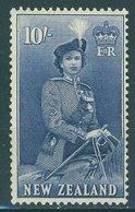 New Zealand 1953 10/- Ultramarine - MNH** - New Zealand