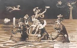 Thème Politique Satirique Illustré Par Henri Hurren : Les Mois Parisiens  Février 1910 La Comète (voir Scan) - Satiriques