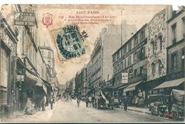 TOUT  PARIS   -    Rue Ménilmontant Dans Le  XXe Ardt  En 1900  ( Vendu Dans Son état ) - Autres