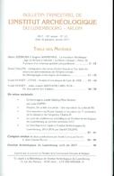 Bulletin Institut Archéologique Luxembourg 2017 - Belgique