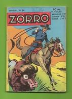 Zorro N° 54 - Société Française De Presse Illustrée - Dépôt Légal : Octobre 1959 - BE - Books, Magazines, Comics