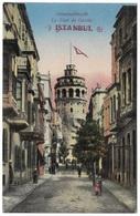 Constantinople La Tour De Galata Istanbul - Unused C1915 - MJC - Turkey
