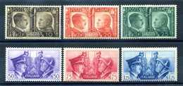 1941 REGNO SET * - 1900-44 Victor Emmanuel III