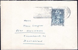 1966 Lettre Luxembourg Vers Steinwiesen, Michel: 731  3Fr (ARBED - Hôpital Dudelange) 2Scans - Luxembourg