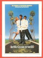 CINEMA-CARTOLINA MANIFESTO FILM-LO STRIZZACERVELLI-DAN AYKROYD-WALTER MATTHAU-CHARLES  GODIN - Manifesti Su Carta