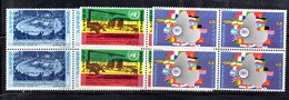 ETP42 - ETIOPIA 1972 , Yvert Serie In Quartina Yvert N 642/644  ***  MNH  ONU - Etiopia