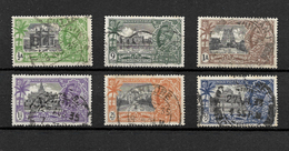 India 1935 KGV Silver Jubilee, Complete Set To 3.5a Used (7247) - 1911-35 Roi Georges V