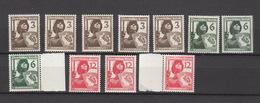 Deutschland Deutsches Reich ** 643-645 Luftschutz Mehrfach Katalog 51,00 - Deutschland