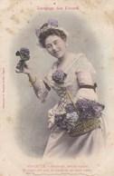 LANGUAGE DES FLEURS - Violette - Fleurs