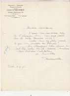 Diest , Louis Uten - Kenis , Ijzerwaren , Aluminium ,wapens ,munitie ; Arme Et Munition - Belgio