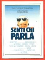CINEMA-CARTOLINA MANIFESTO FILM-SENTI CHI PARLA-JOHN TRAVOLTA-KIRSTIE ALLEY-GEORGE SEGAL-PAOLO VILLAGGIO - Manifesti Su Carta