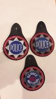 Lot De 3 écussons-insignes Police -- Occasion -- Pour Collection Et Collectionneur - Police & Gendarmerie