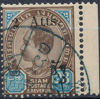 Stamp Siam Thailand 1905 Overprint Used Lot150 - Thaïlande