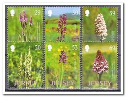 Jersey 2003, Postfris MNH, Flowers, Orchids - Jersey