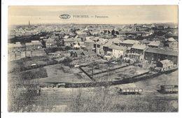 FORCHIES  ( M 4063 )  Des Wagons De Train  Et Vue Sur Des Jardins Des Maisons - Fontaine-l'Evêque