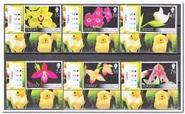 Jersey 2008, Postfris MNH, Flowers, Orchids - Jersey