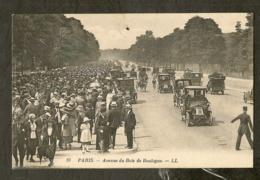 CP-Avenue Du Bois De Boulogne - Autres