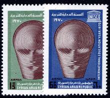 Syria 1970 International Education Year Unmounted Mint. - Syria