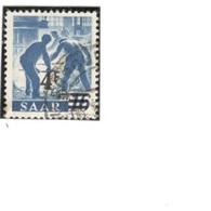 SAAR1947-50: Michel231Zused - 1947-56 Occupation Alliée