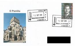 SPAIN. POSTMARK CAMINO DE SANTIAGO. O PORRIÑO 2018 - Marcofilia - EMA ( Maquina De Huellas A Franquear)