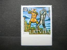 Latvian Literature - Rainis # Latvia Lettland Lettonie 2005 MNH # Mi. 643 Du - Lettonie
